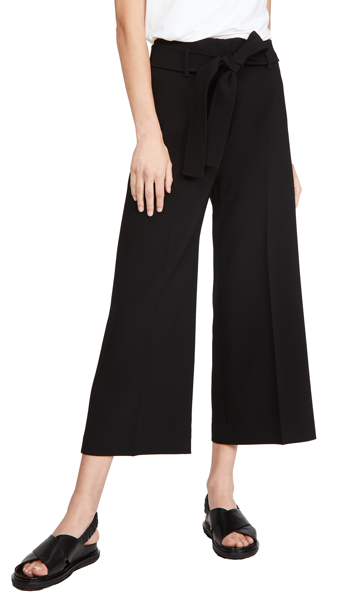 Theory Belt Crop Pants
