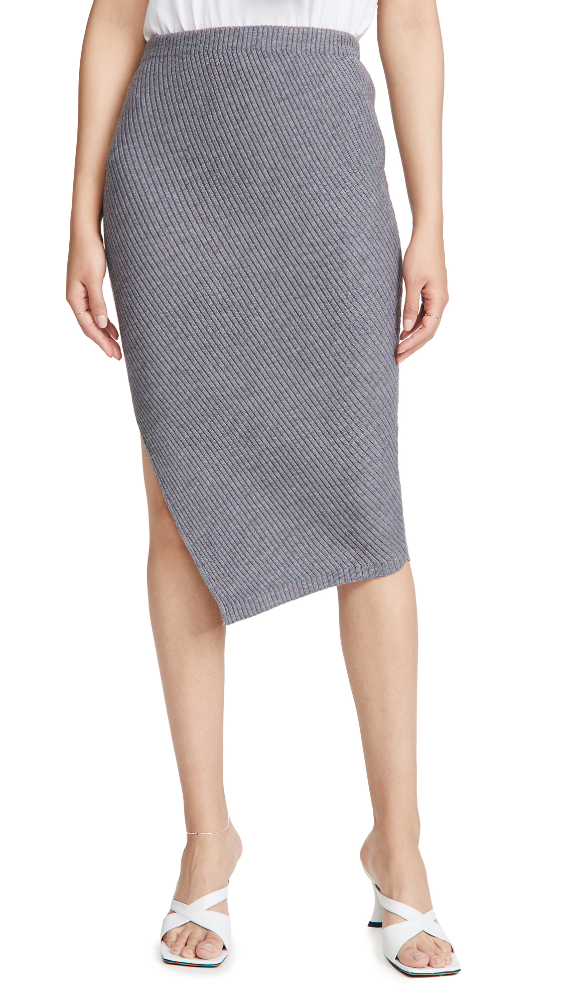 Theory Twisted Rib Skirt