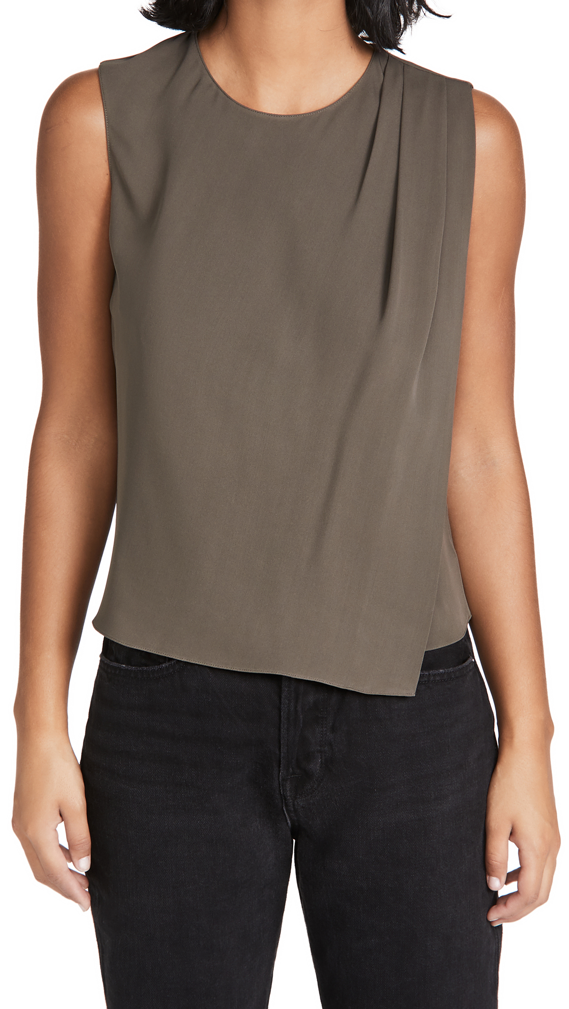 Theory Shoulder Drape Top
