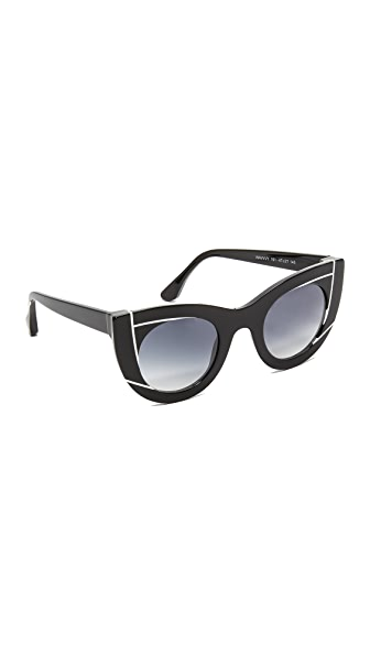 Thierry Lasry Wavvvy Sunglasses - Black White/Grey