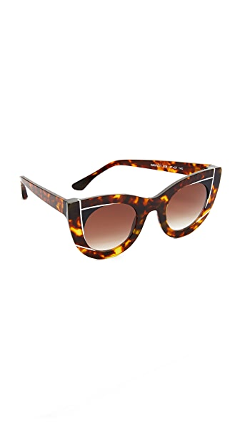 Thierry Lasry Wavvvy Sunglasses - Tortoise/Brown