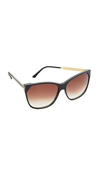 Thierry Lasry Jeopardy Sunglasses - Black/Grey