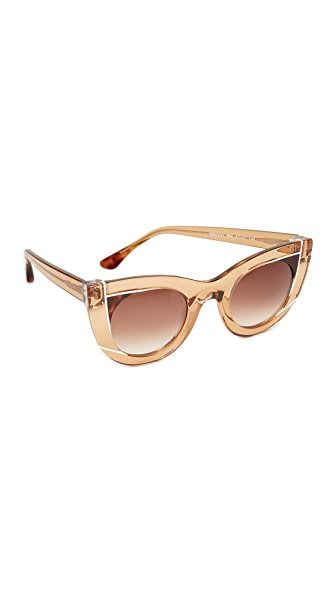 Thierry Lasry Wavvvy Sunglasses - Brown/Brown