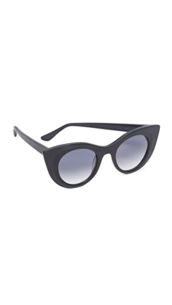 Thierry Lasry Hedony Sunglasses - Black/Blue