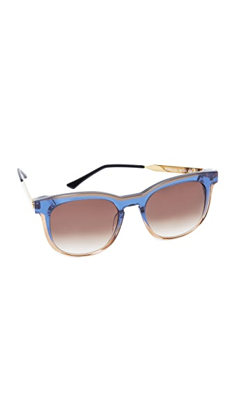 Thierry Lasry Pearly Sunglasses - Blue Tan/brown