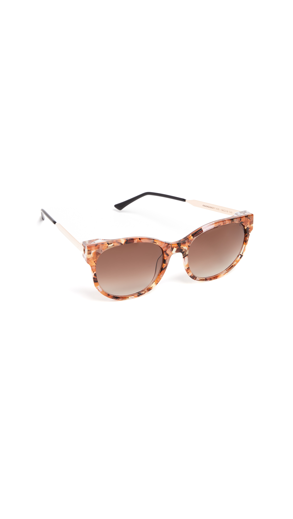 Thierry Lasry Axxxexxxy Sunglasses In Multi/Brown