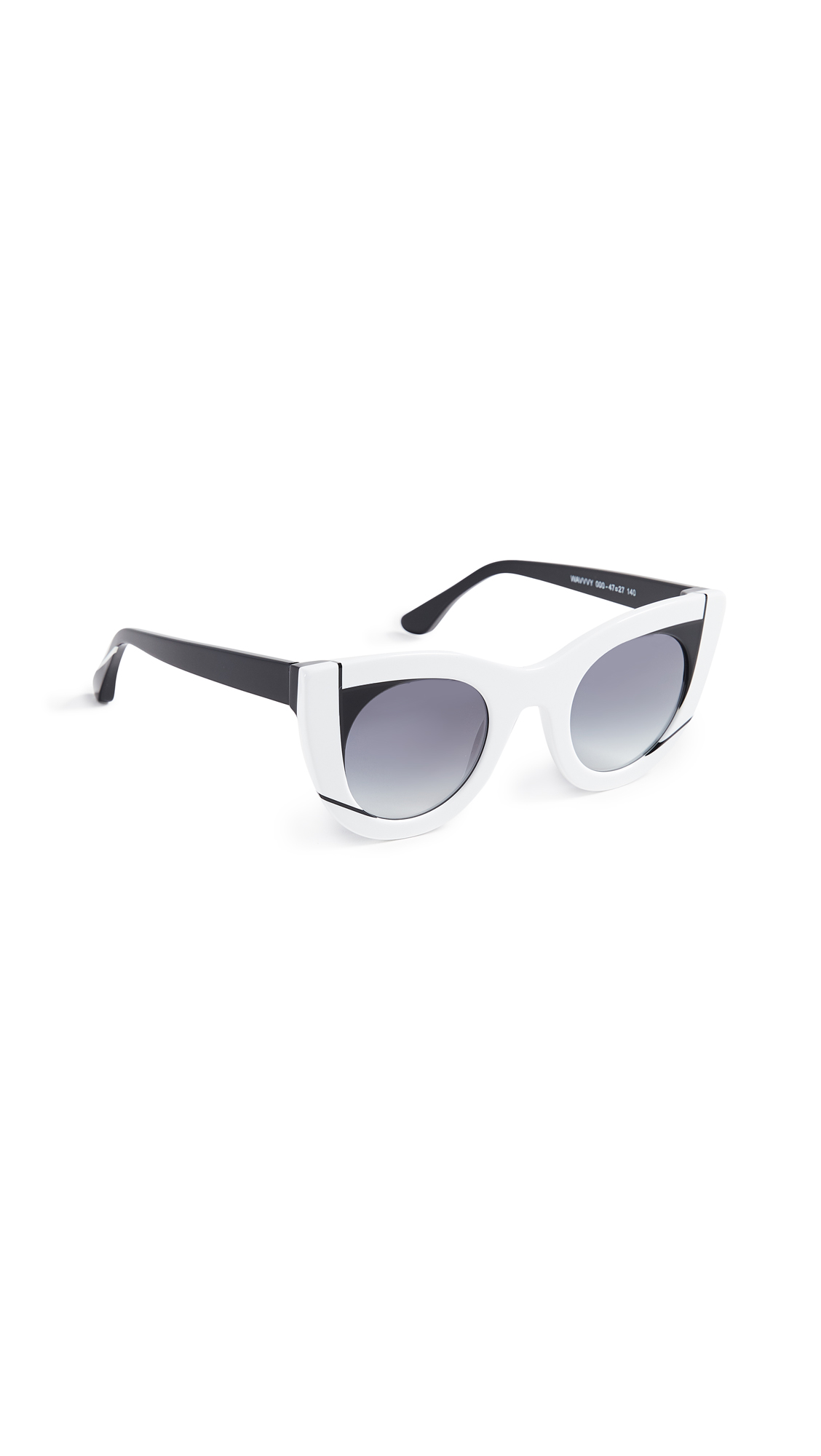 Thierry Lasry Wavy Sunglasses In White/Blue