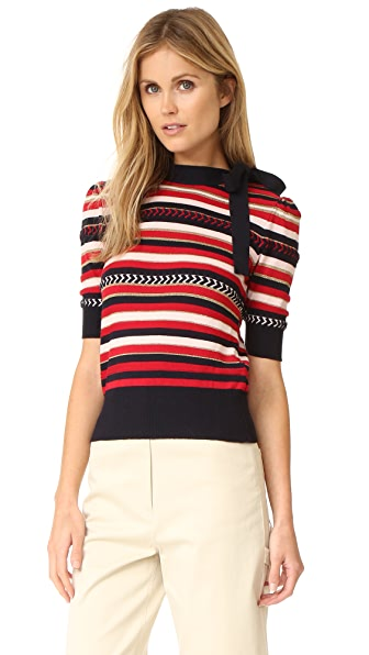 Hilfiger Collection Multi Stripe Sweater