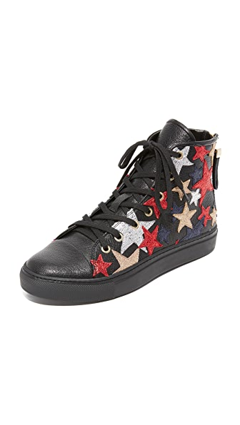 Hilfiger Collection Rock-n-Roll High Top Sneakers