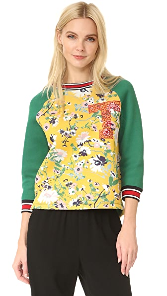Hilfiger Collection '60s Floral Pullover