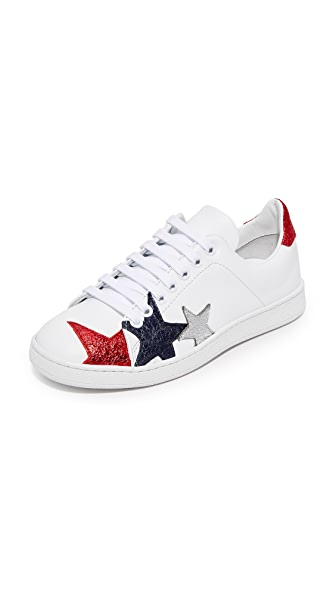 Hilfiger Collection Stars Classic Sneakers - Snow White/Multi