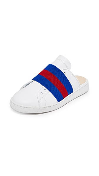 Hilfiger Collection Webbing Slide Sneakers - Snow White/Multi