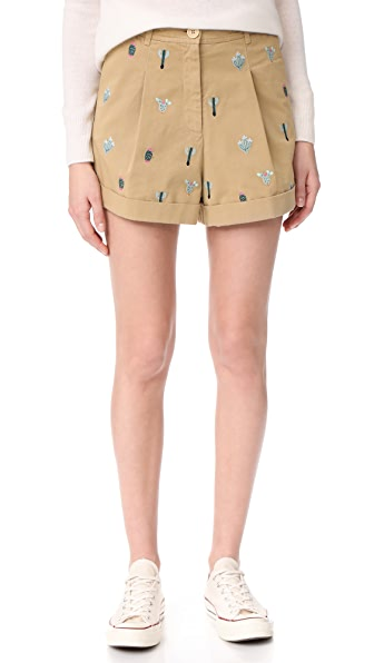 Hilfiger Collection Washed Chino Shorts