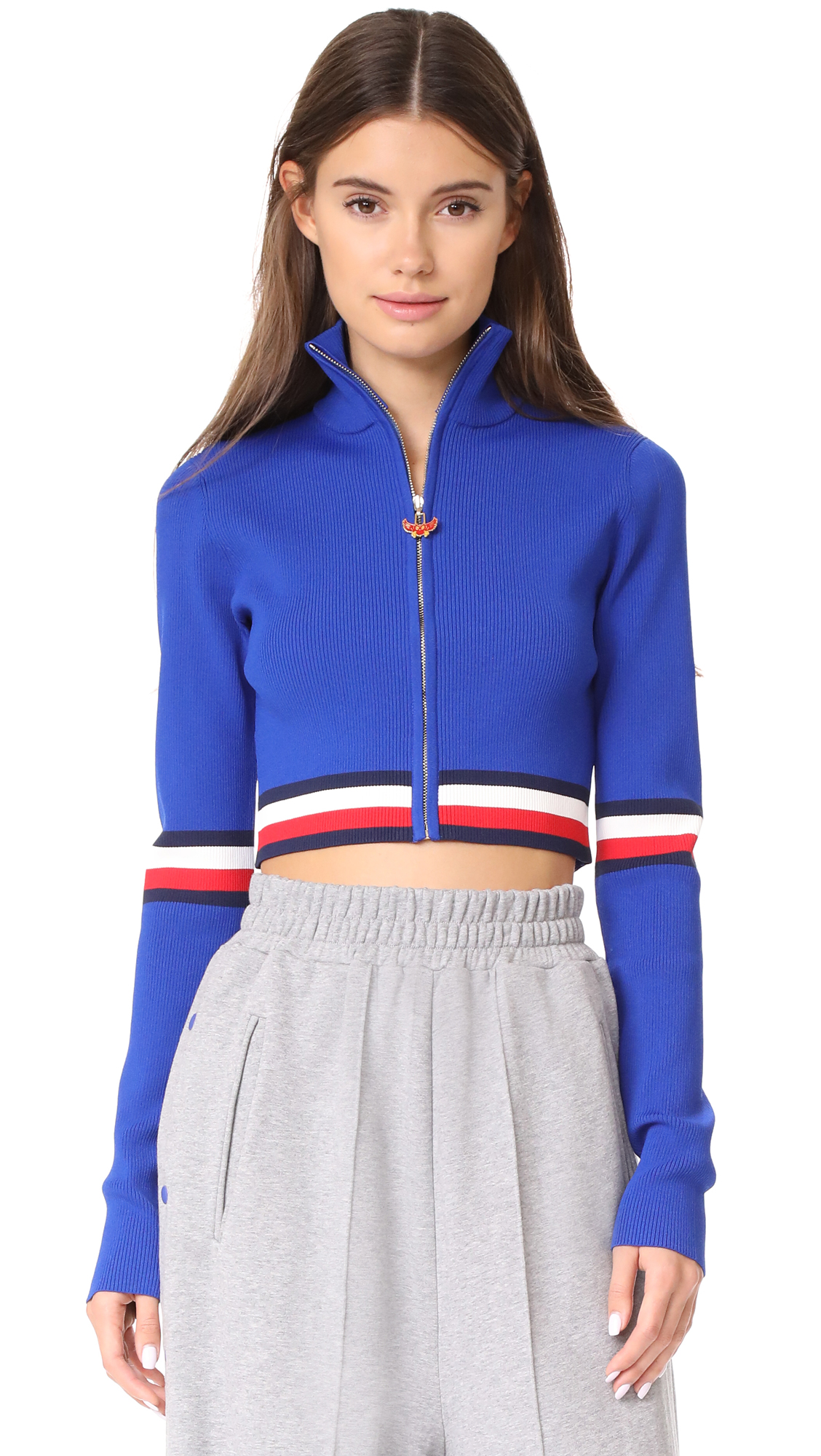 Hilfiger Collection Corporate High Neck Sweater - Surf