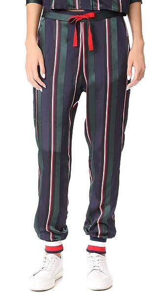 Hilfiger Collection Pull On Pyjama Pants - Peacoat/Multi