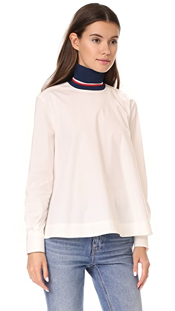 Hilfiger Collection Corp High Neck Shirt