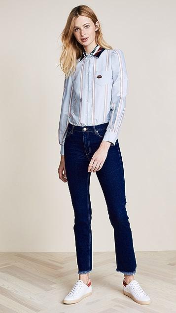 Hilfiger Collection Puff Sleeve Shirt