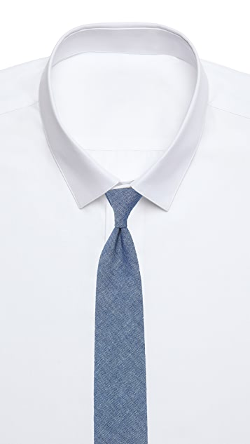 The Hill-Side Selvedge Tie