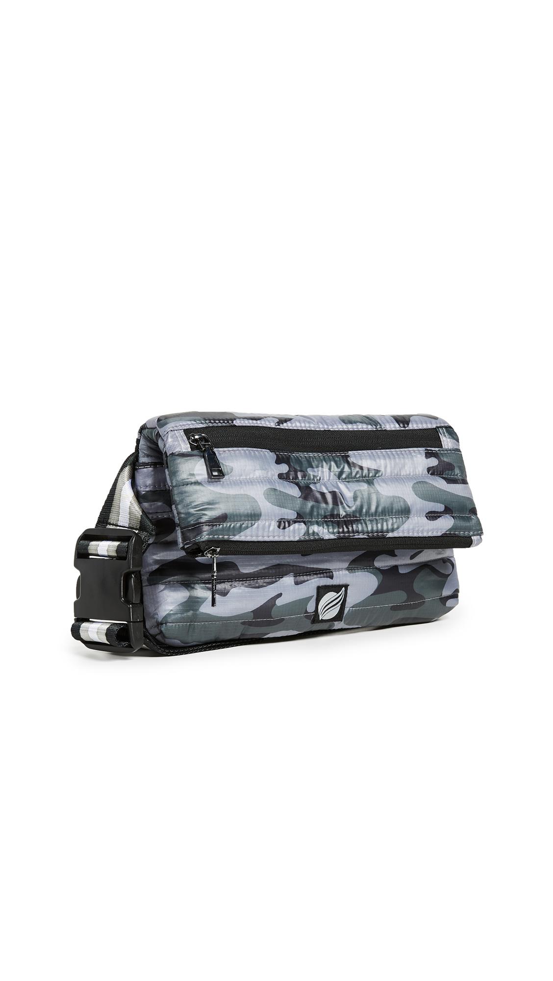 Convertible Belt Cross Body Bag, Tribeca Grey Camo
