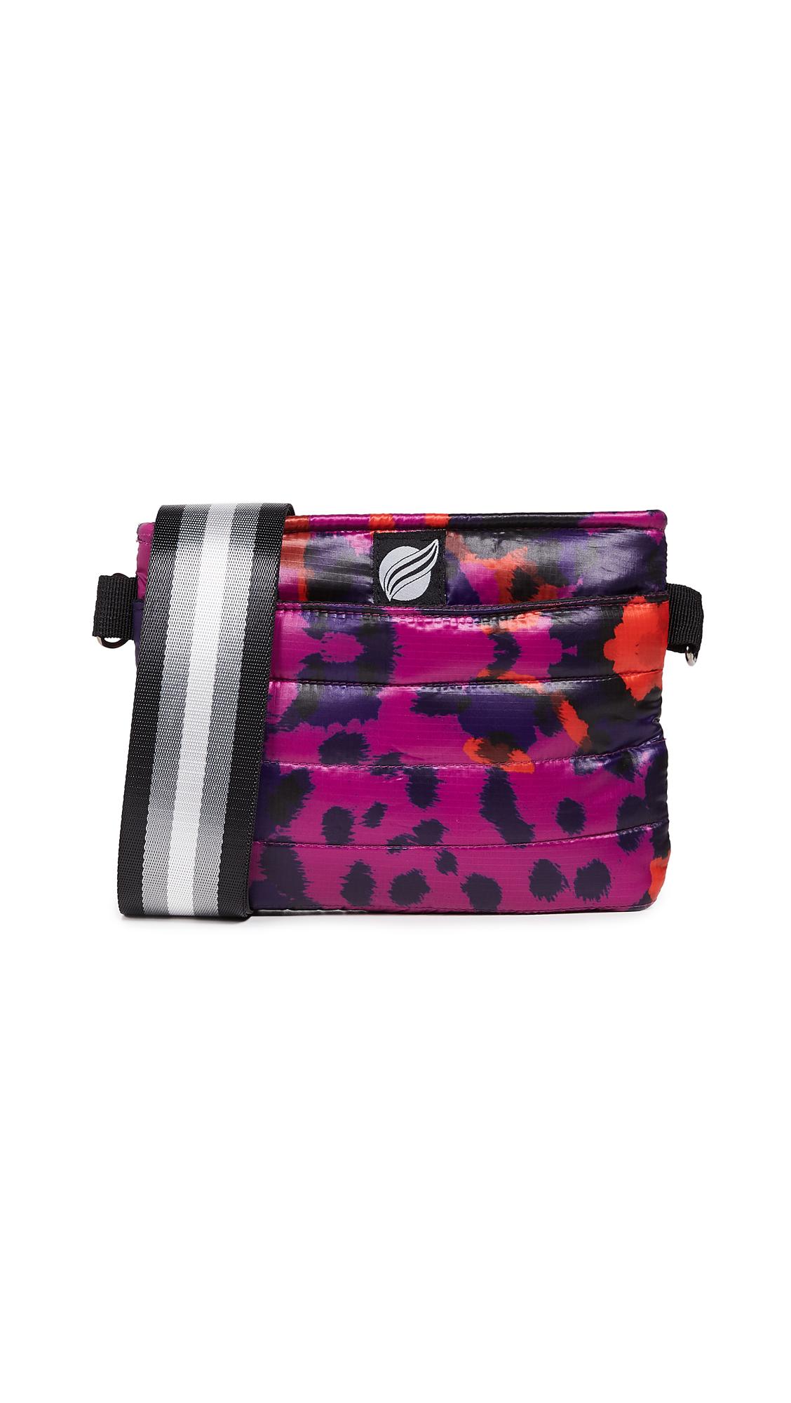 THINK ROYLN Convertible Belt Crossbody Bag in Urban Animal Fuchsia