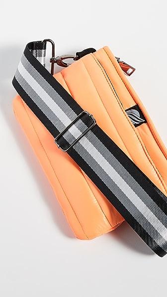 Think Royln Convertible Belt Crossbody Bag In Neon Orange