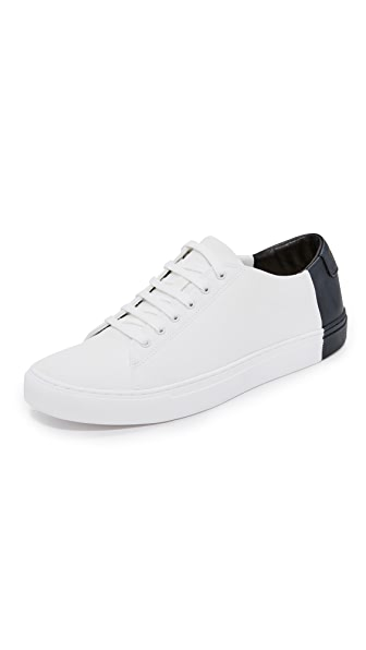 THEY NEW YORK Canvas Two Tone Low Sneakers