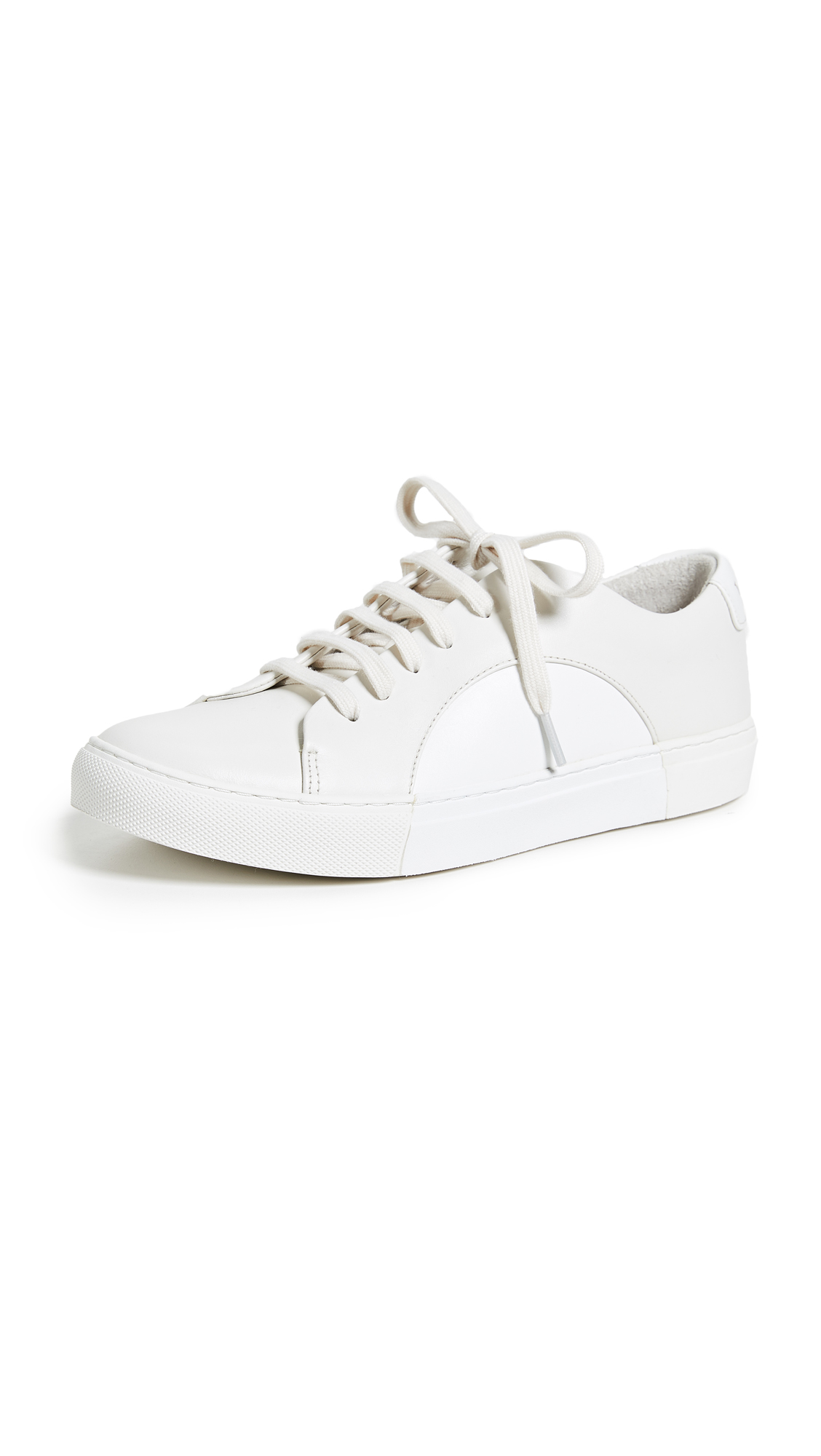 THEY NEW YORK Circle Low Sneakers - Off White/White
