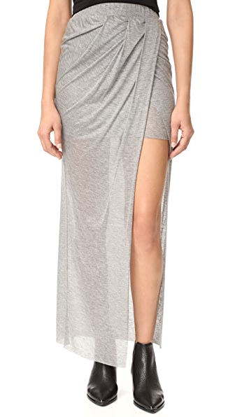 The Hours Wrap Maxi Skirt