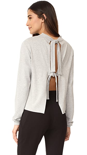The Hours Tie Back Pull Over