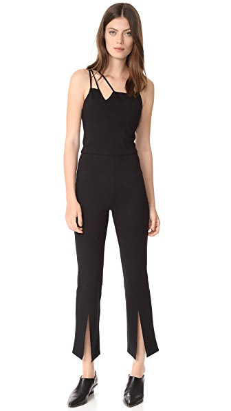 The Hours Suspension Jumpsuit - Black
