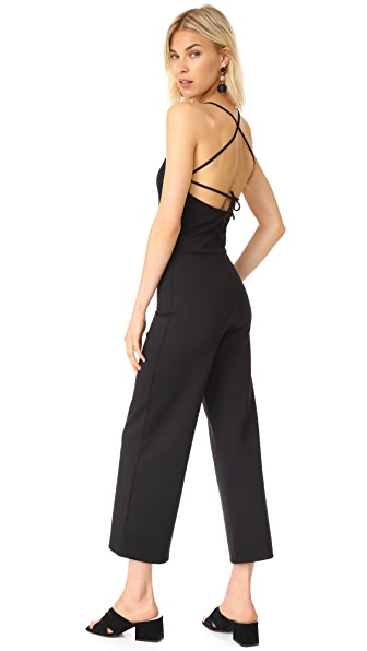 The Hours Cross Back Jumpsuit