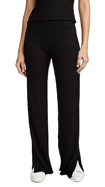 The Range High Waist Pants In Black