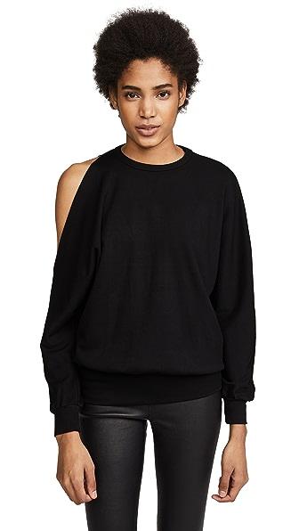 The Range Carved Sweatshirt In Black