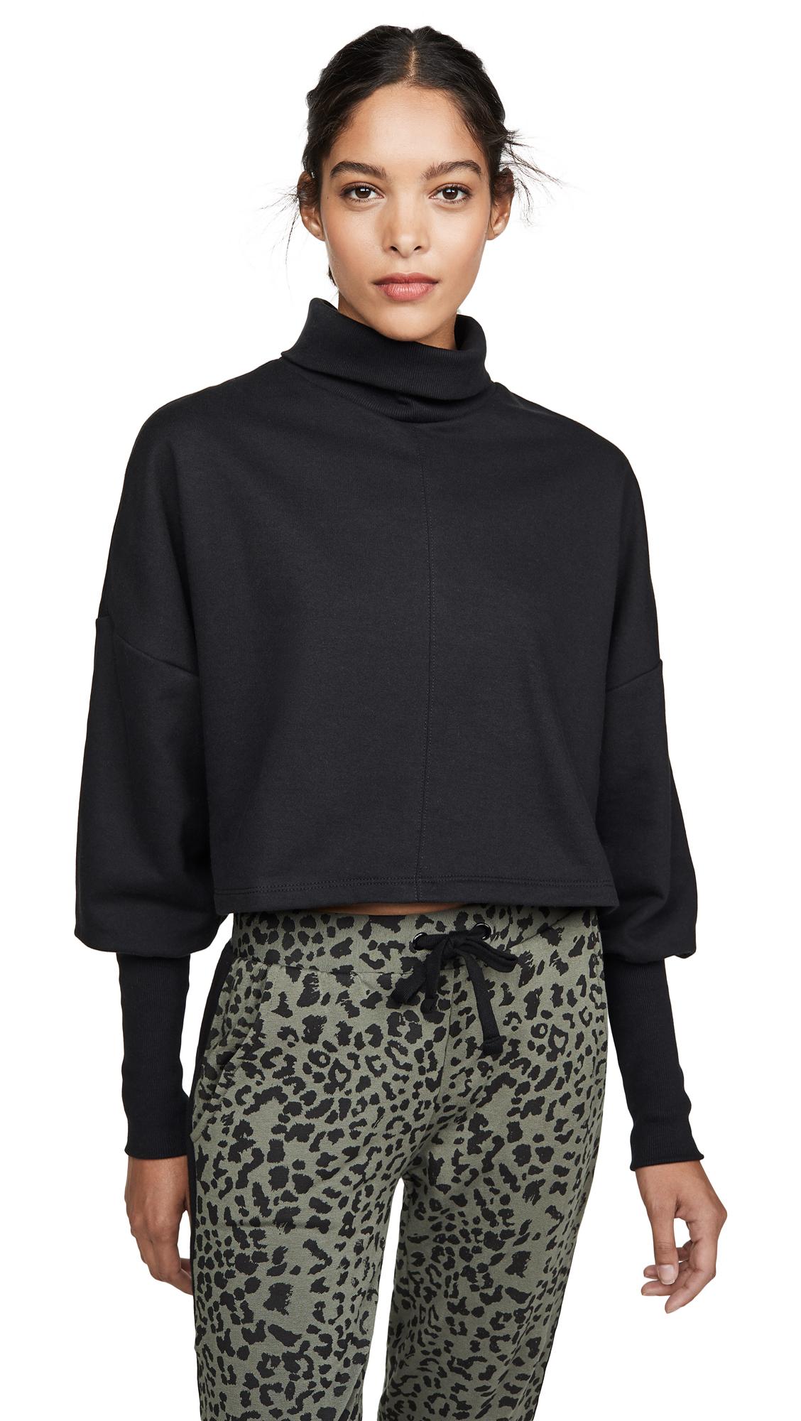 The Range Divided Turtleneck Sweatshirt - 30% Off Sale