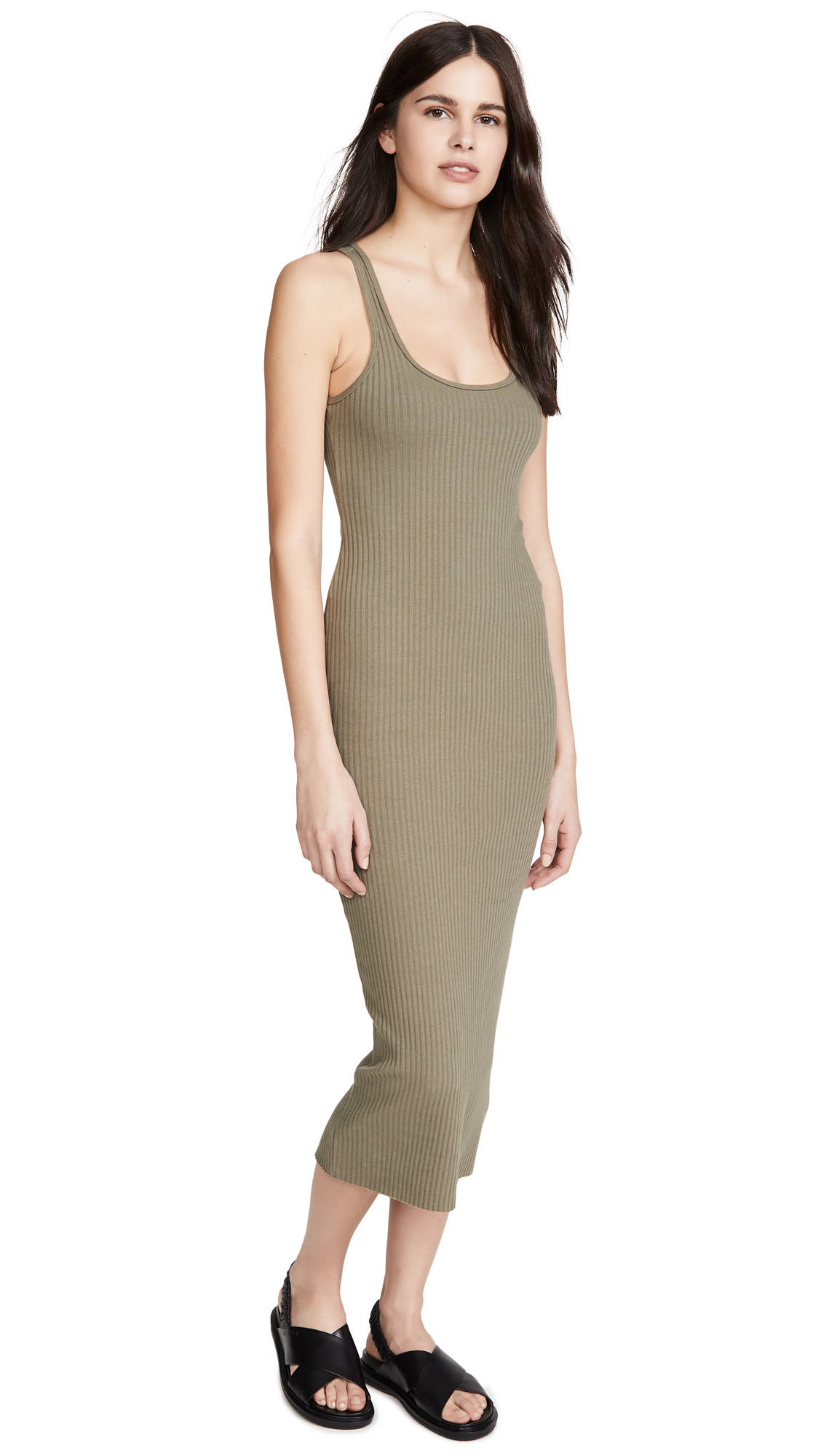 Buy The Range online - photo of The Range Vital Rib Utilitarian Tank Dress