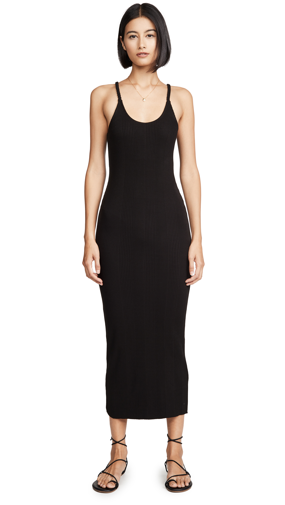 Buy The Range Division Rib Banded Midi Dress online beautiful The Range Clothing, Dresses