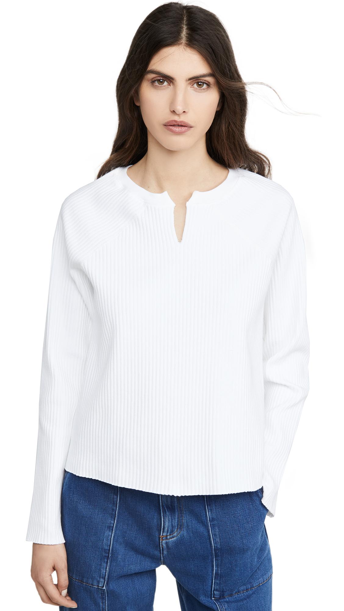 Buy The Range online - photo of The Range Vital Rib Slashed Long Sleeve Sweater