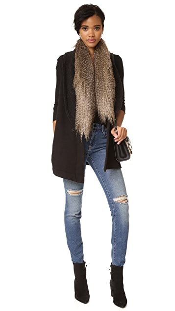 Three Dots Deidre Vest