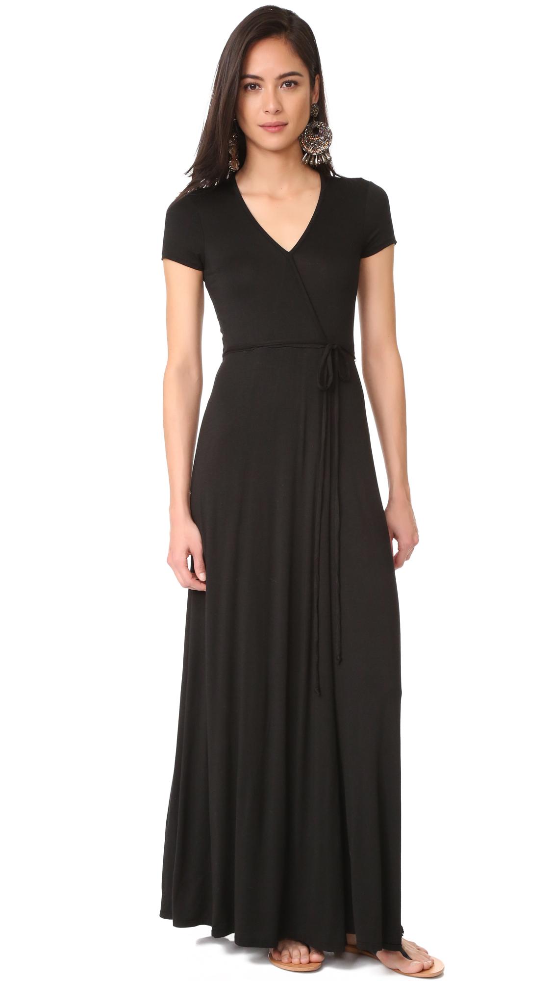 Three Dots Wrap Dress online sales