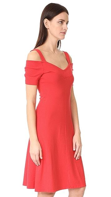 Three Dots Cold Shoulder Dress