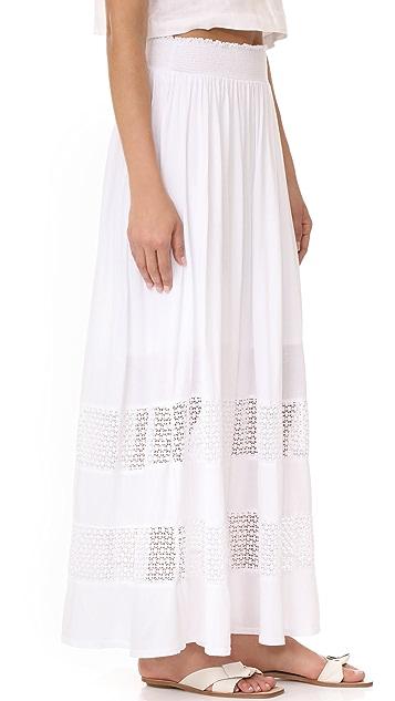 Three Dots Maxi Skirt