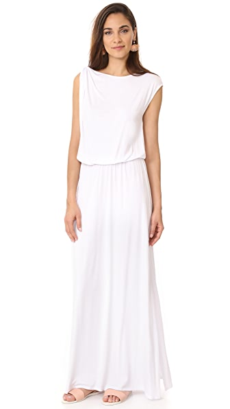 Three Dots Goddess Maxi Dress