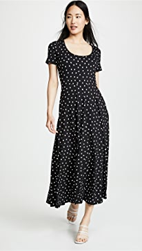 f8ab988e8b6a42 Three Dots. Painted Dot Jersey Dress