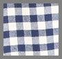 Navy Gingham/White