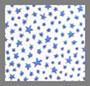 Blue Scattered Star