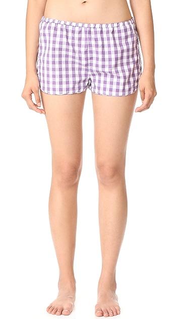 Three J NYC Sadie Top Tie Tank & Shorts