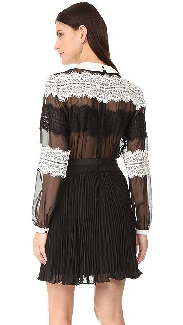 Three Floor Saint Lace Dress