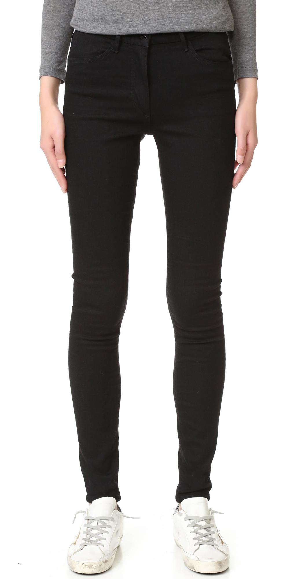 W3 Channel Seam Skinny Jeans 3x1