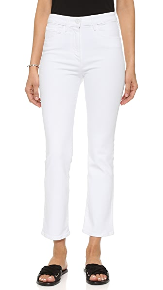 3x1 The Principle High Rise Crop Micro Flare Jeans - Aspro