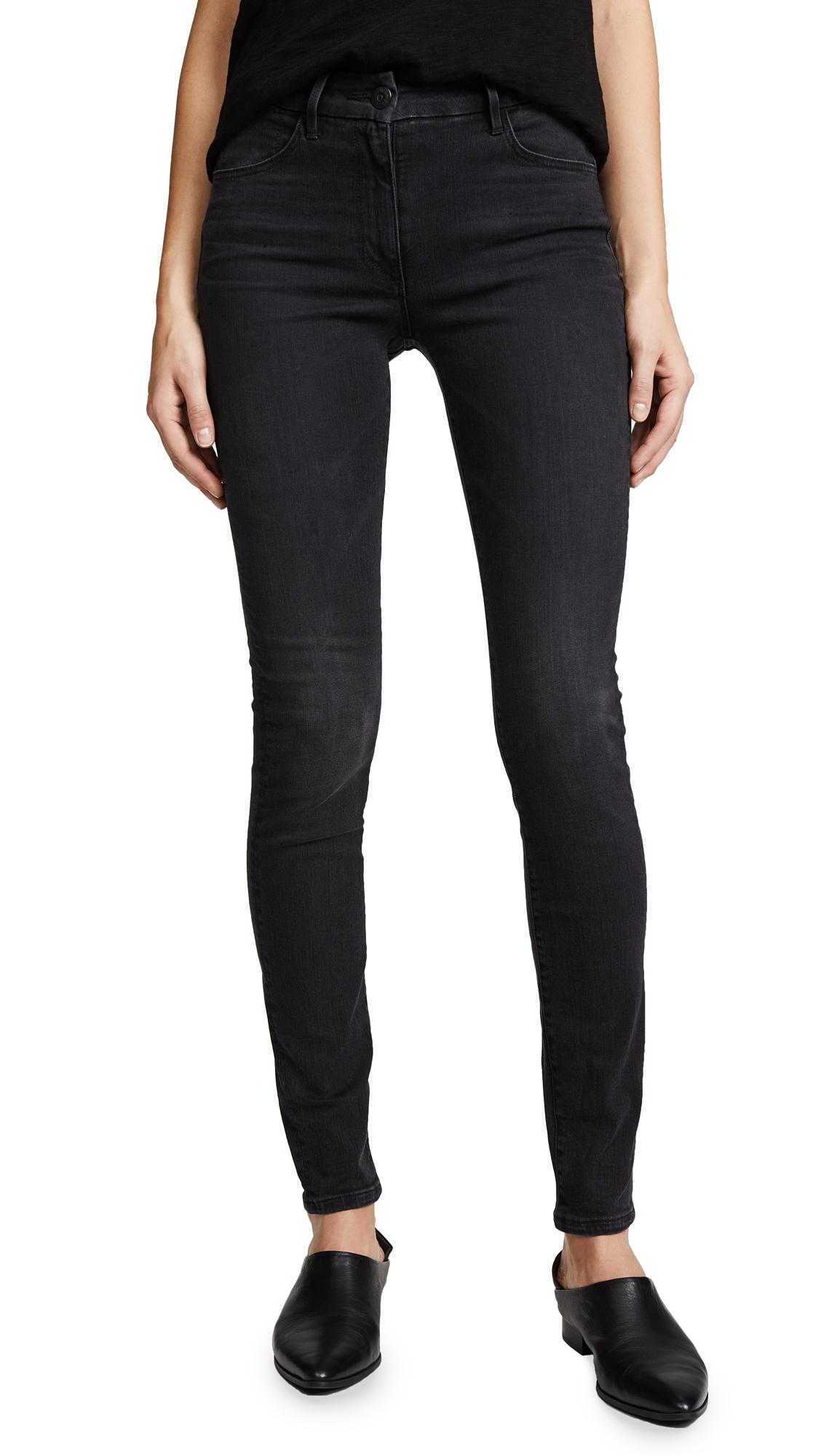 3x1 W3 Channel Seam High Rise Skinny Jeans